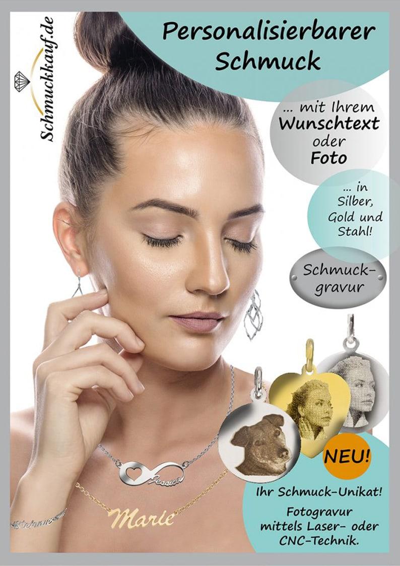 Cover des Gravurschmuck Katalogs von Schmuck Lieferant Kleckow