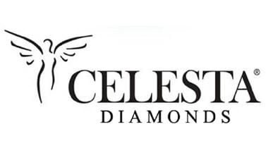 Logo der eleganten Schmuckmarke Celesta Diamonds